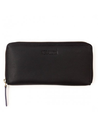 CARTERA PIEL JERY COLOR NEGRO