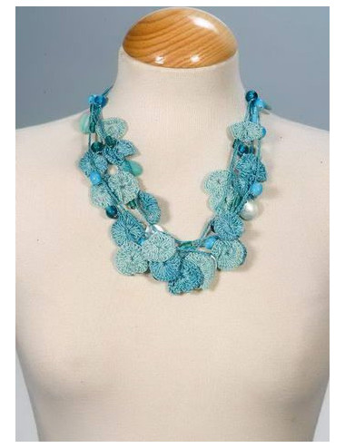 COLLAR AZUL CROCHET