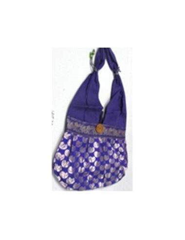 BOLSO BAND.AZUL.ESTAMP.DESTELL. ELEFAN