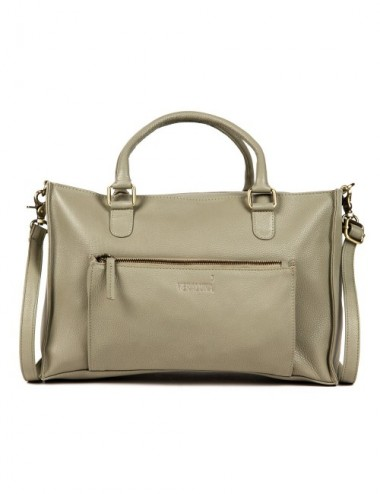 BOLSO PIEL COURIER S19 COLOR STONE