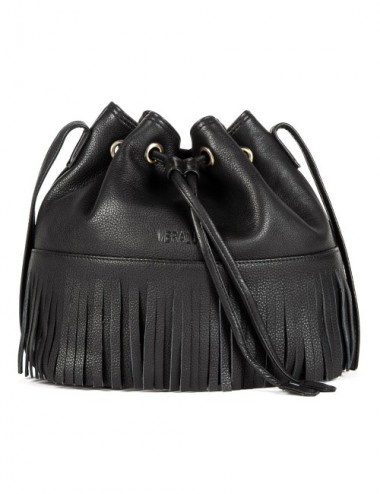 BOLSO PIEL BUCKET S19 COLOR NEGRO