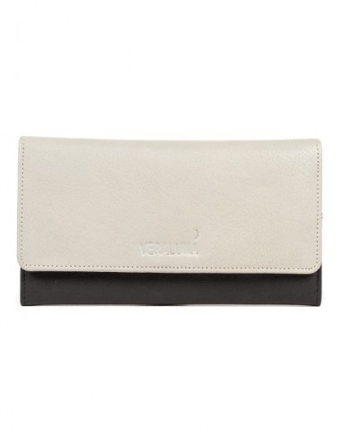 CARTERA PIEL JEREK S19 NEGRO Y STEAM