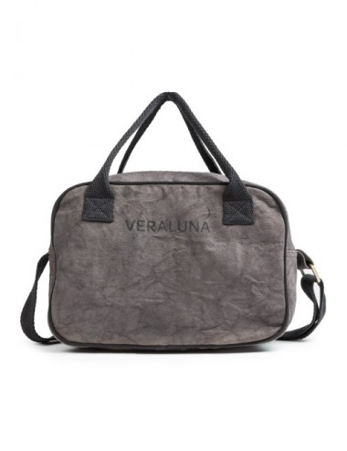 VERALUNA GYM SMALL CANVAS PLOMO