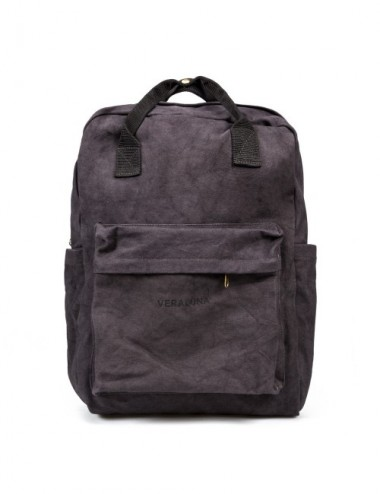 VERALUNA CANVAS BACKPACK PLOMO