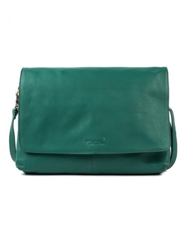 BOLSO PIEL COAT COLOR OCEAN