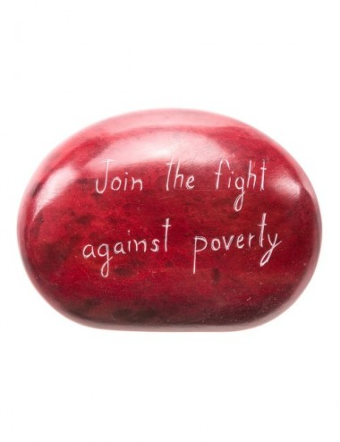 PIEDRA PISAPAPELES ROJA JOIN THE FIGHT
