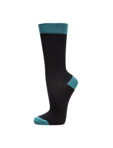 VERALUNA SOCKS BLUE PRINT BLACK 37-41