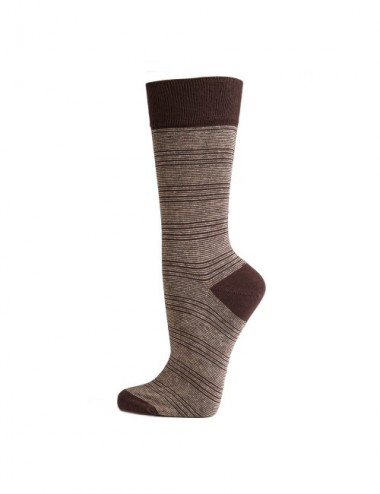 CALCETINES MAN AL ORG TSTRIP 43-46 BROWN