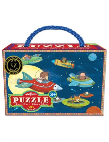 PUZZLE RECICLADO UP AND AWAY 20 PCS