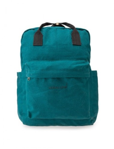 VERALUNA CANVAS BACKPACK OCEAN