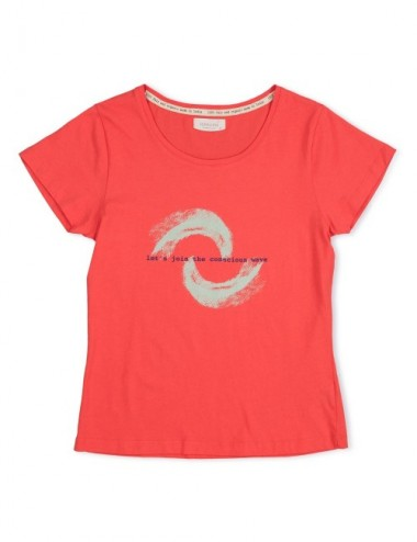 CAMISETA ORGANIC SEIKO RED REEF XL