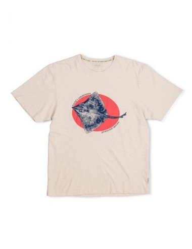CAMISETA MAN ORGANIC ARI CLOUD L