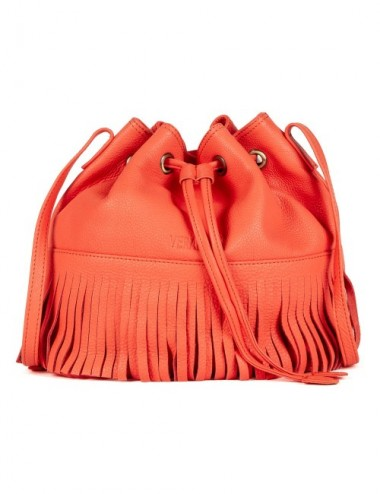 BOLSO PIEL BUCKET S19 COLOR PEACH