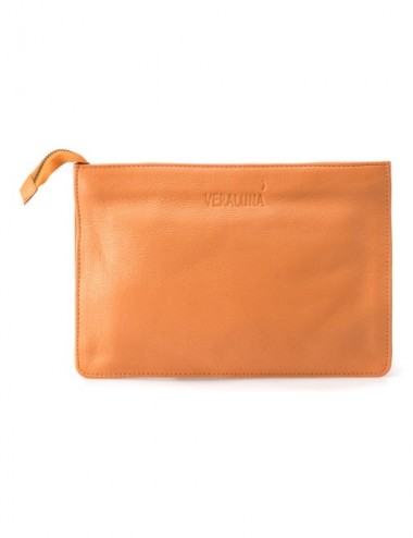 BOLSO PIEL SEMERU COLOR NARANJA SUNSET