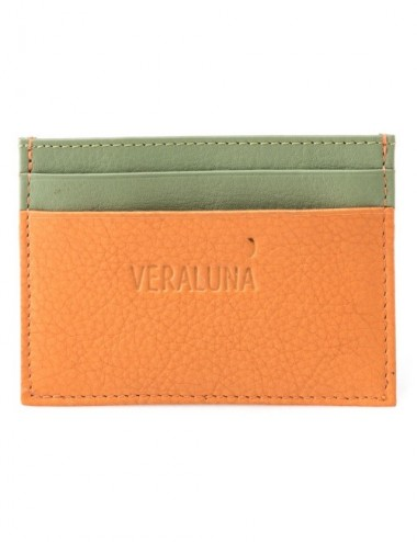 CARTERA PIEL JAYA COLOR SUNSET CACTUS