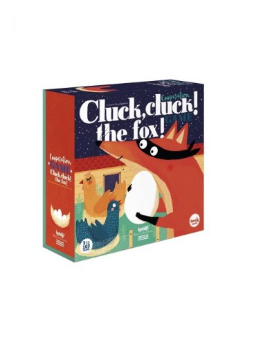 JUEGO COOPERATIVO CLUCK CLUCK THE FOX