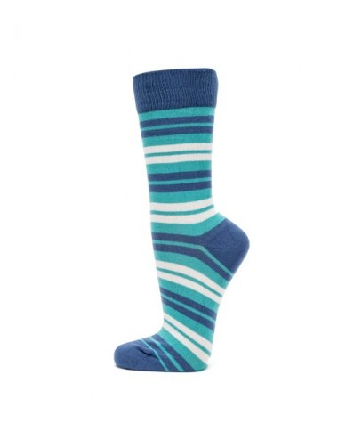 VERALUNA SOCKS BLUE STRIPES 39-42