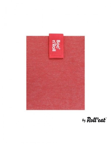 PORTABOCADILLOS REUSE ECO ROJO